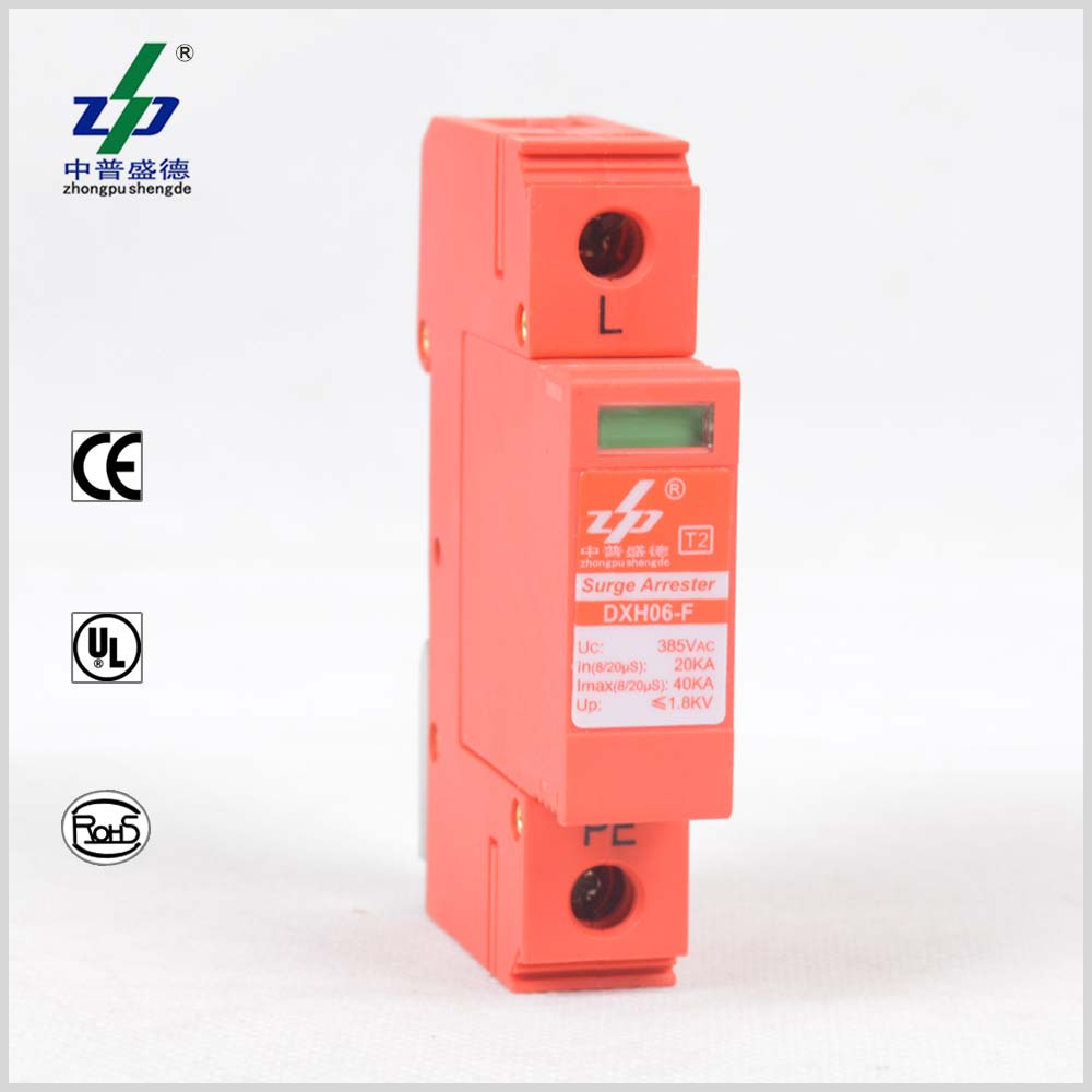 Surge Protective Deviceac Spd220v Protection 110v Spd230v Ac Protector Wiring 220v 1p Ce Tuv Ul Single Phase Device