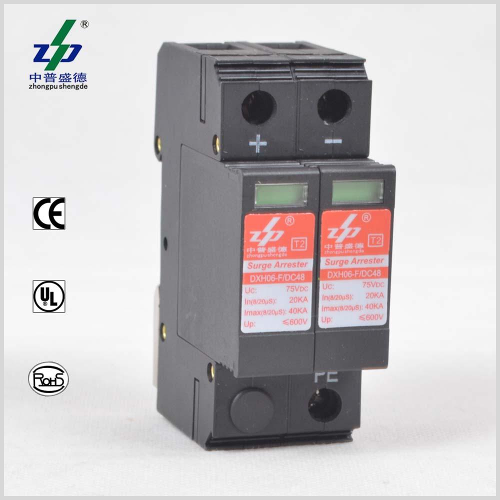 Surge Protection Devicespddc Spd48v Protection20ka Device Wiring Diagram Dc 48v 40ka 2p Ul Certified
