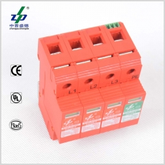 AC 220V 4P N-PE Three Phase Surge Protection Device