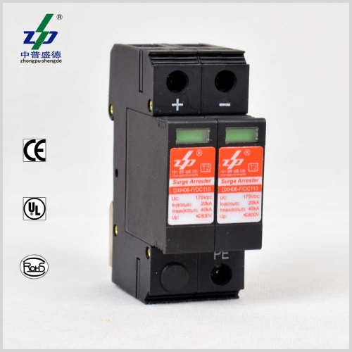 DC 110V 40kA 2P Surge Protection Device