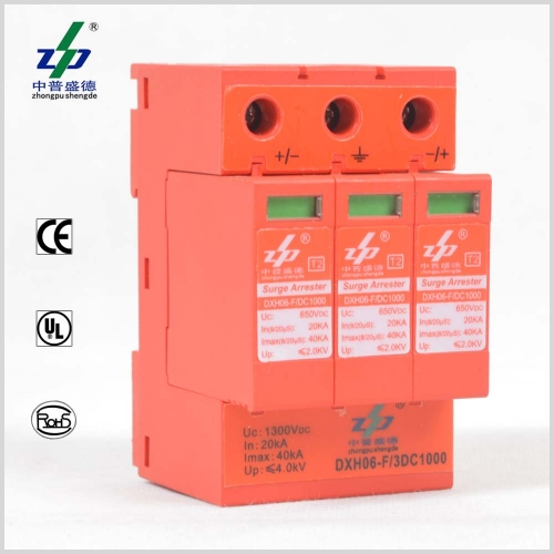 1000V DC Solar Energy UL Certified Photovoltaic Surge Protection Device