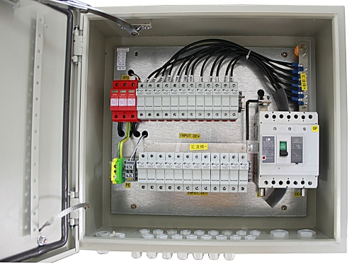 IP65 Solar 12 in 1 out PV Combiner Box