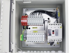 IP65 Solar 8 in 1 out PV Combiner Box